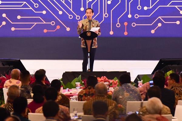Jokowi: APBN Hanya Kontribusi 14%, Beri Kesempatan Swasta