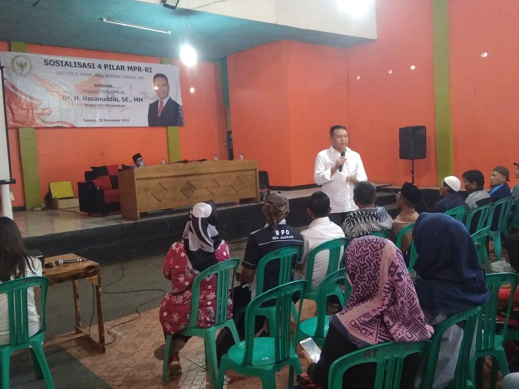 Tangkal Radikalisme, TB Hasanuddin Gelar Sosialisasi 4 Pilar