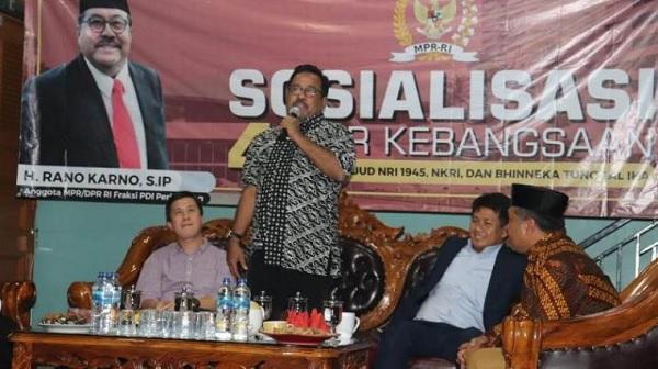 Rano Karno: Negara Harus Hadir Cegah Kikisnya Pondasi Bangsa