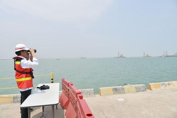 Jokowi Targetkan Pelabuhan Patimban Terbesar Kedua di 2027