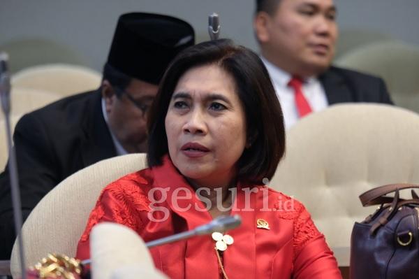 Indah Minta Askrindo & Jamkrindo Lebih Perhatikan UMKM