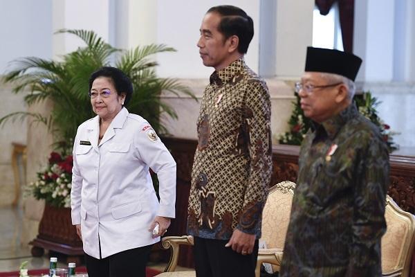 Megawati Minta Gantinya Kiai Ma'ruf & Mahfud MD di BPIP