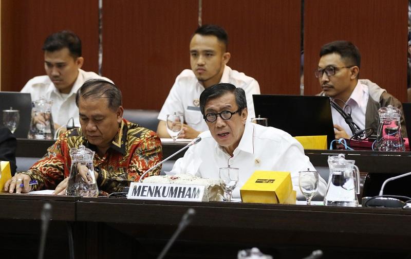 Pemerintah Ajukan 15 RUU Masuk Prolegnas 2020