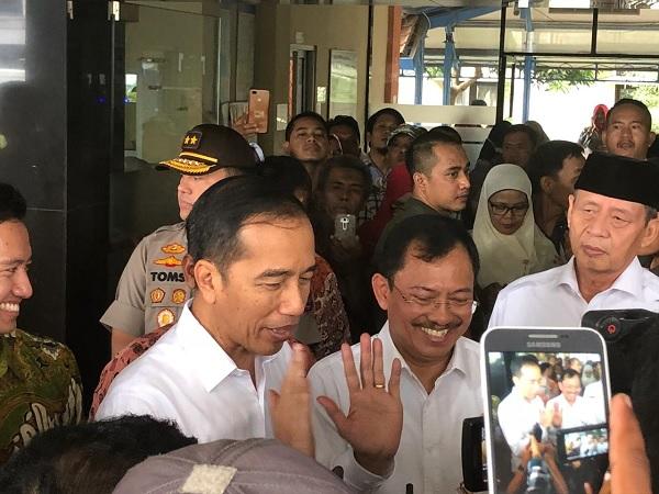 Ke RSUD Cilegon, Jokowi: Perbaiki Layanan Kelas III BPJS