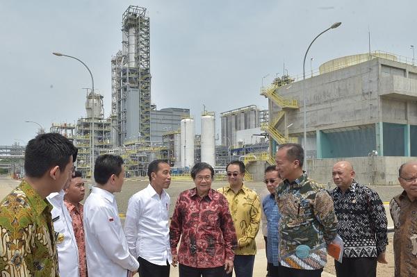 Chandra Asri, Jokowi: 3-4 Tahun Lagi Tak Impor Petrokimia