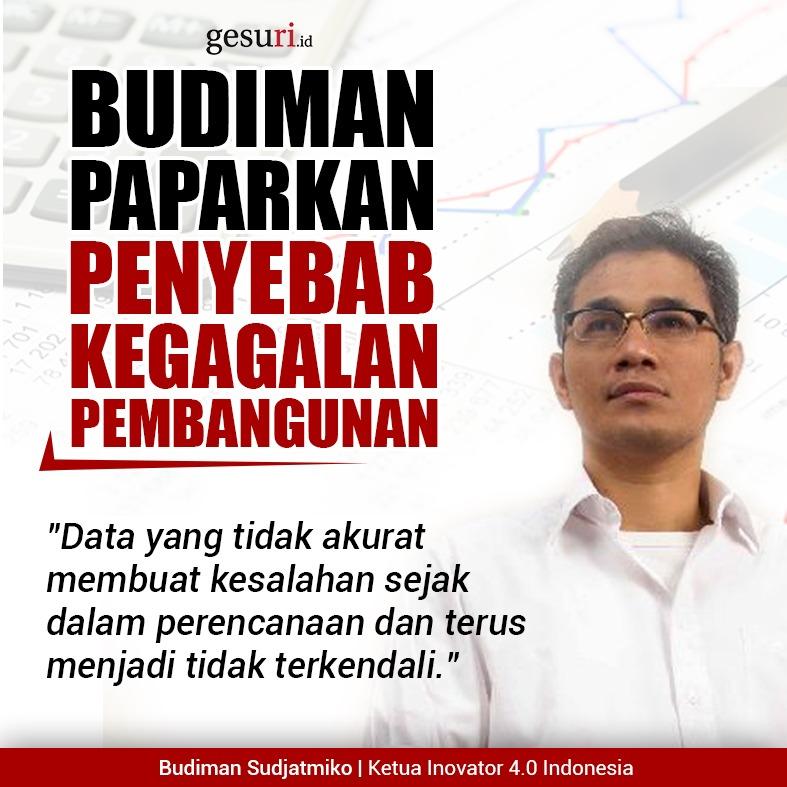 Budiman Sudjatmiko Paparkan Penyebab Kegagalan Pembangunan