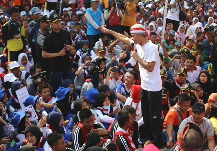 Ganjar Pimpin Peringatan Hari Antikorupsi Sedunia