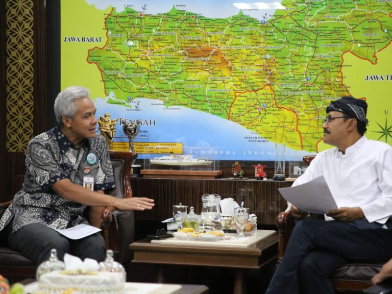 Gus Ipul Pinang Ganjar Jadi Ketum Persada.id