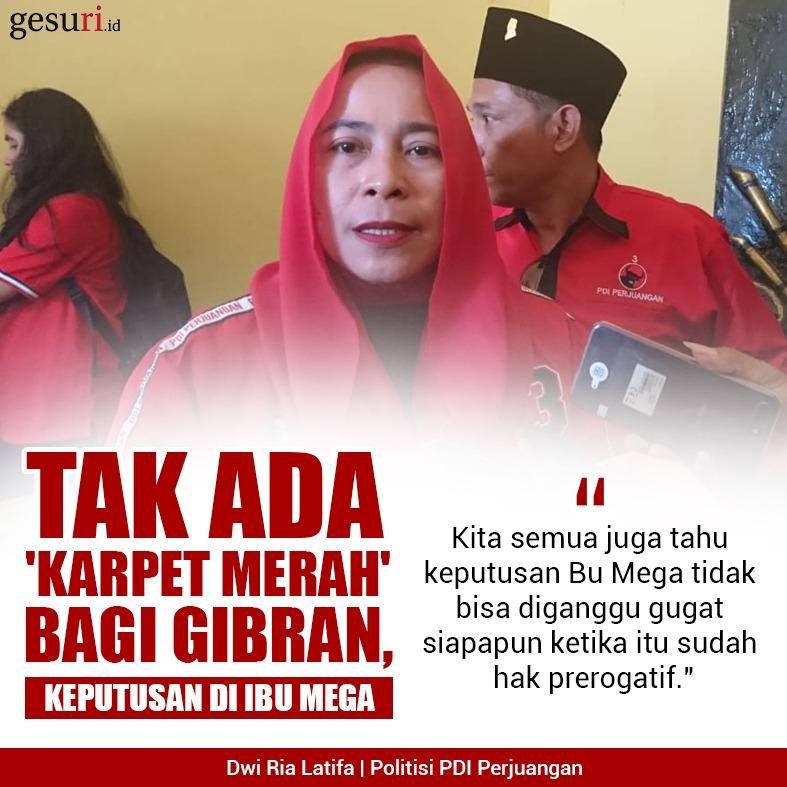 Tak Ada 'Karpet Merah' Bagi Gibran, Keputusan di Ibu Mega