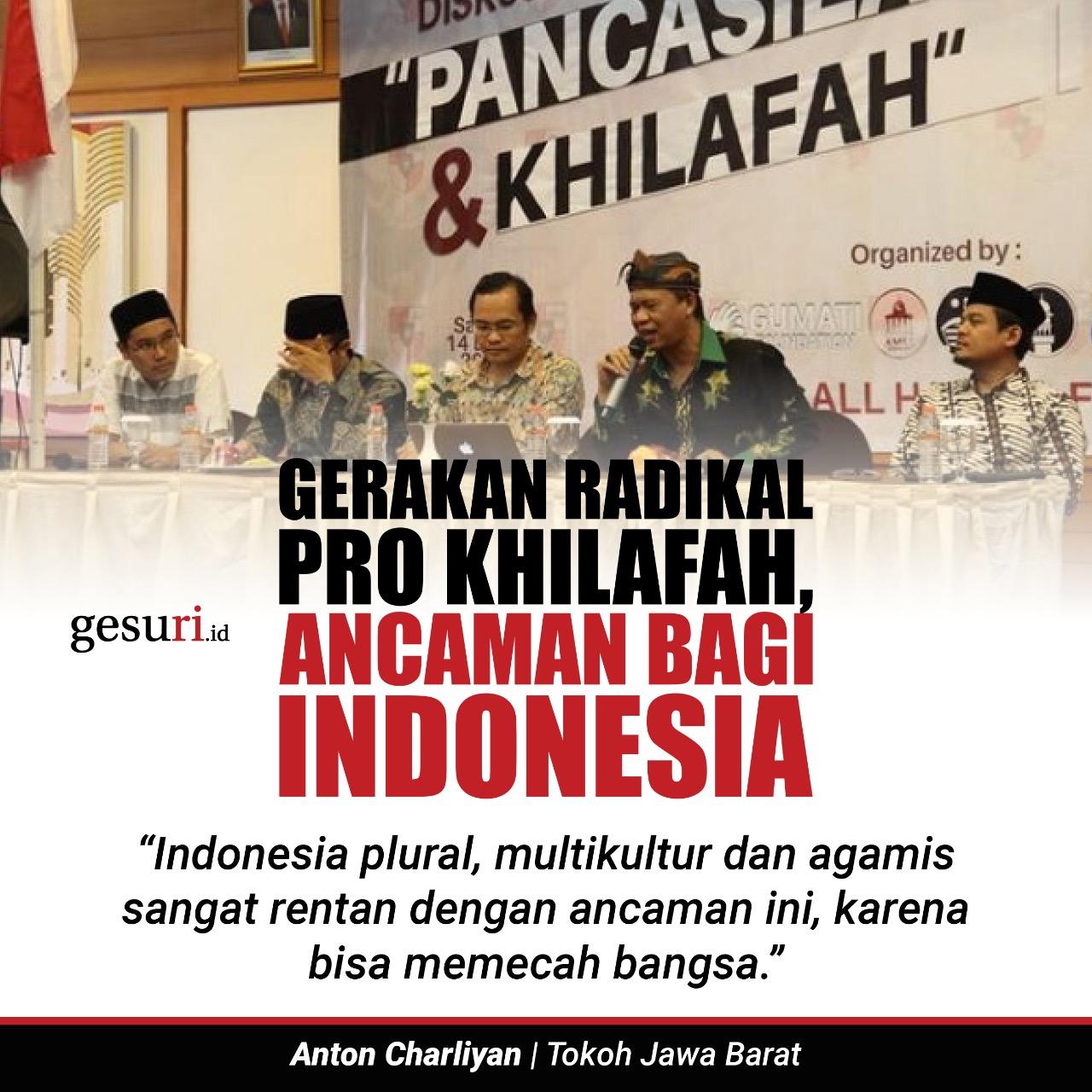 Gerakan Radikal Pro Khilafah, Ancaman Bagi Indonesia