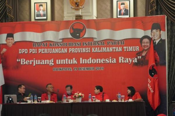 Jelang Pilkada, PDI Perjuangan Kaltim Konsolidasi Internal