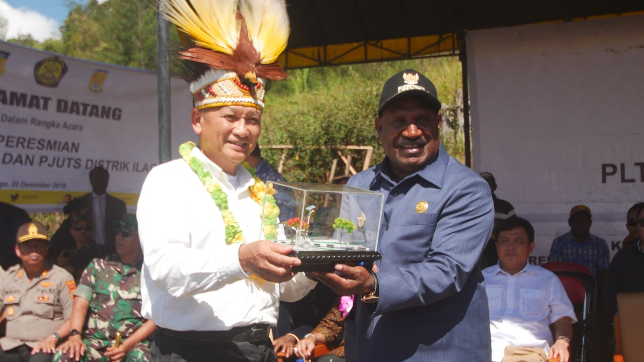 Hore, Kabupaten Puncak Dapatkan Bantuan PLTMH