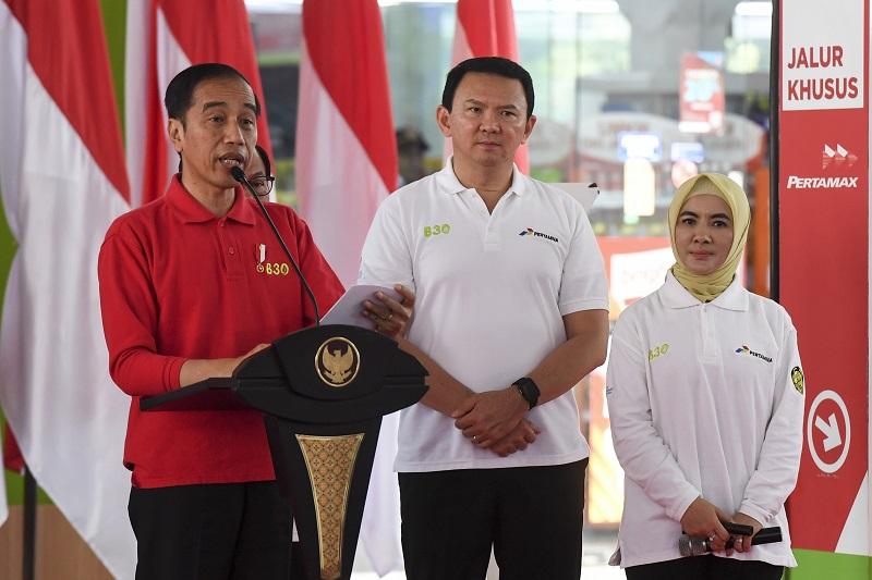 Presiden Senang Implementasi Program B30 Hemat Devisa