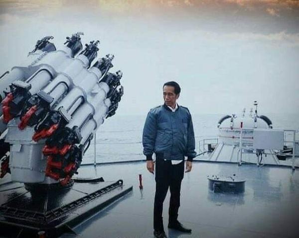 Konflik Natuna, Jokowi: Diplomatik Damai Tapi Tegas