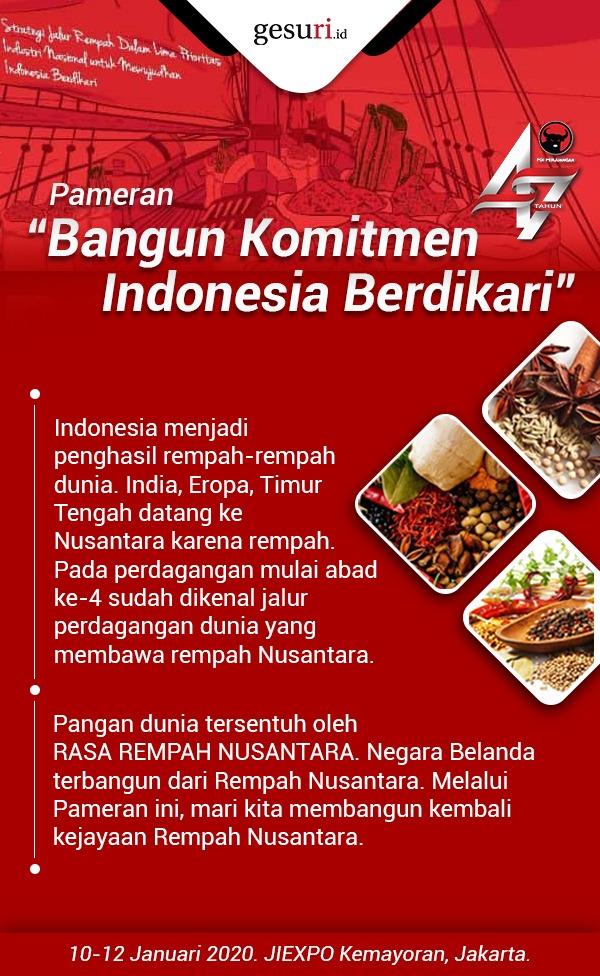 Pameran Kejayaan Rempah Nusantara