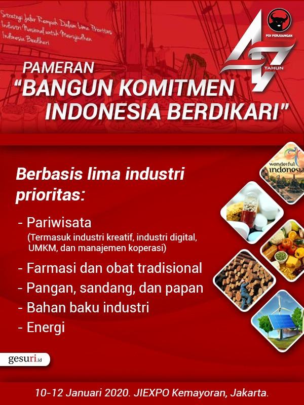 Pameran Berbasis Lima Industri Prioritas