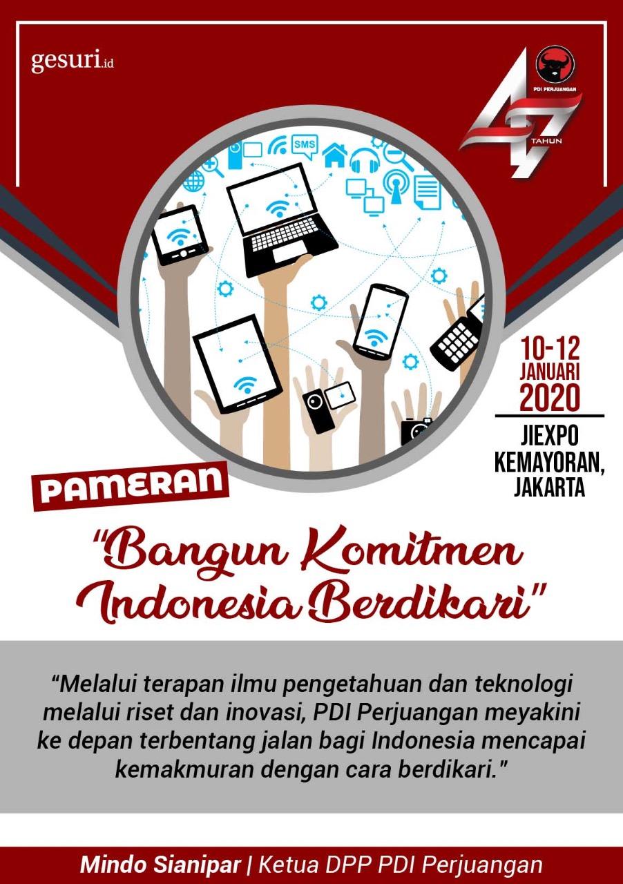 Pameran Riset dan Inovasi Menuju Indonesia Berdikari