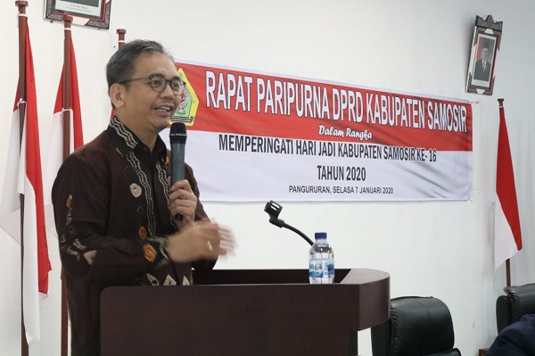 Sihar Sitorus Dorong Kabupaten Samosir Jadi Mercusuar