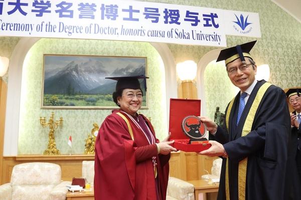 Pidato Megawati Dijadikan Penelitian di Universitas Soka