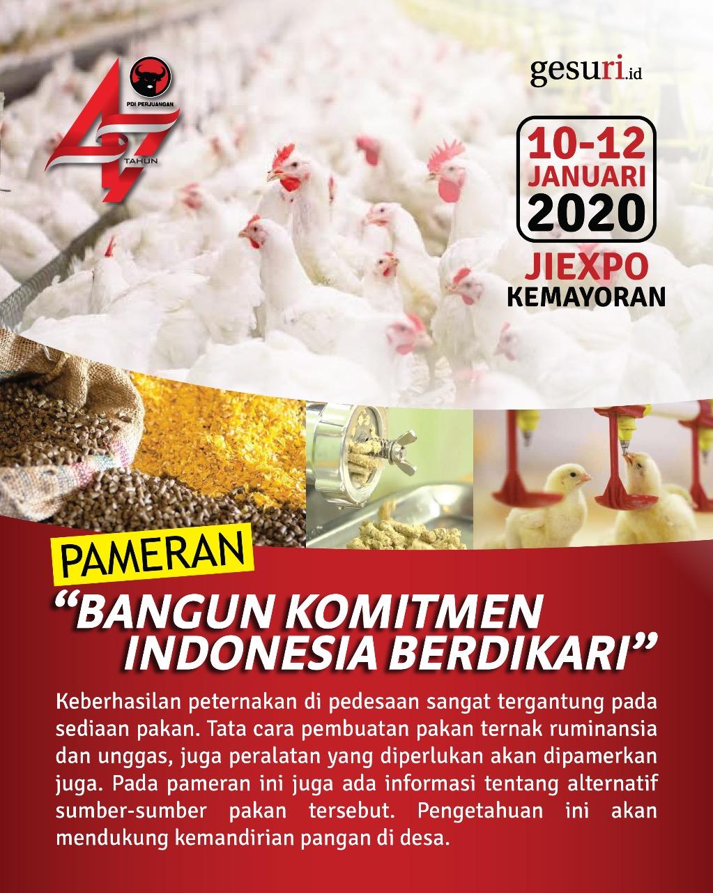 Pameran Produk Protein Hewani Hasil Penelitian Indonesia