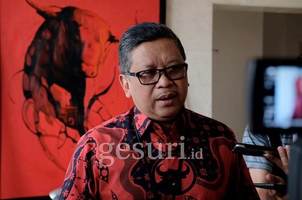 Hasto: Tidak Ada Penggeledahan dan Penyegelan KPK di DPP