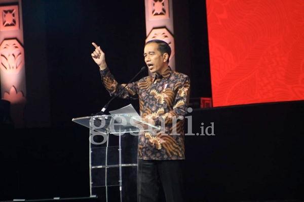 Di HUT PDI Perjuangan, Jokowi Kecam Uni Eropa