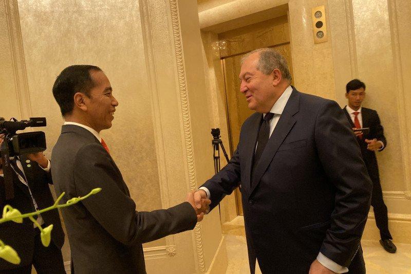 Jokowi Lakukan Pertemuan Bilateral dengan Presiden Armenia