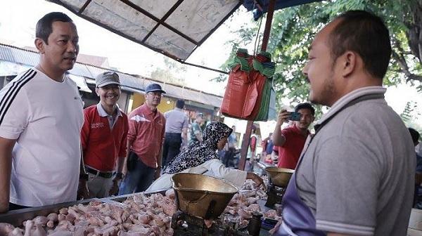 Di Semarang, Pasar Tradisional Bisa Pakai Aplikasi Belanja