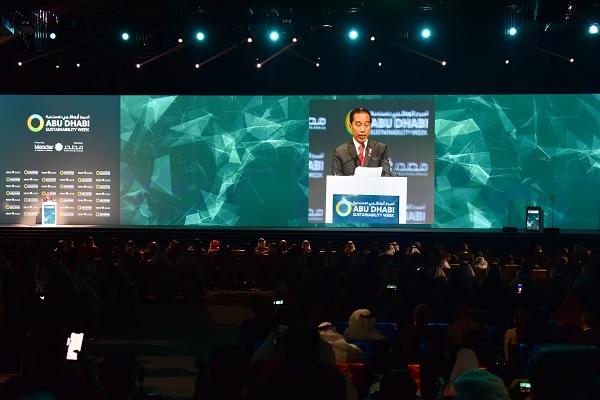 Jokowi Sampaikan Kesiapan RI Berperan Utama Bidang Energi