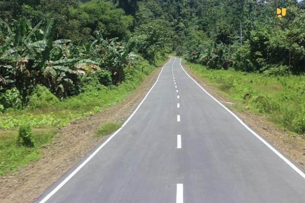 PUPR Tingkatkan Konektivitas Jalan Lingkar Raja Ampat 342 KM