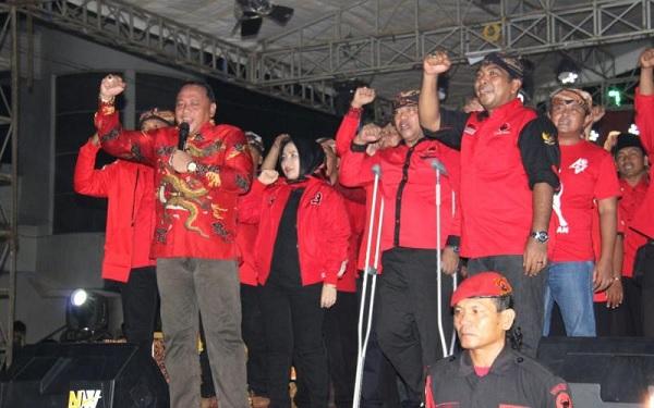 PDI Perjuangan Apresiasi Walikota Tegal Hadiri HUT Partai