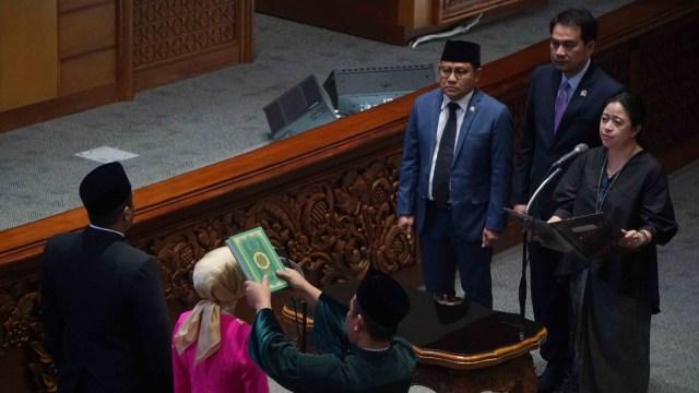 Dipimpin Puan, DPR Lantik 2 Anggota PAW