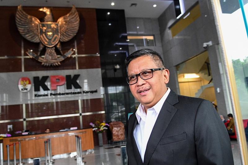 Diperiksa KPK, Hasto Lancar Jawab 24 Pertanyaan