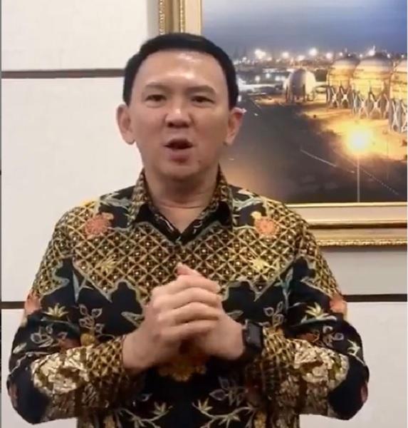 Ahok: Gong Xi Fa Cai, Tuhan Memberkati Kita Semua