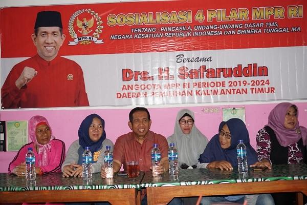 Gelar Sosialisasi 4 Pilar, Safaruddin: NKRI Harga Mati