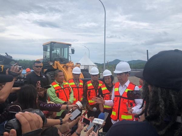 Presiden Apresiasi TPA Sampah Regional Banjar Bakula