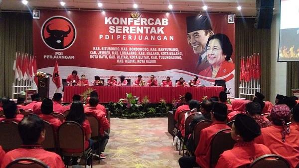 PDI Perjuangan Kota Blitar Reorganisasi PAC Hingga Cabang