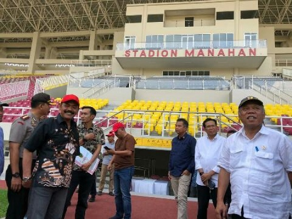 Menteri Basuki Sebut Anggaran Stadion Manahan Tak Main-main