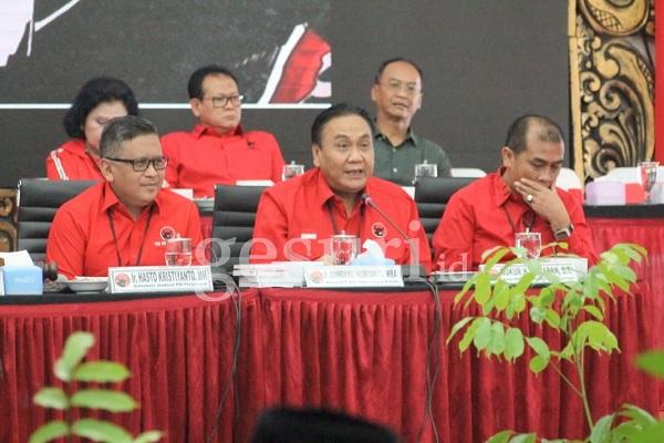 Pasca Rekom DPP, PDI Perjuangan Sumenep Rapatkan Barisan