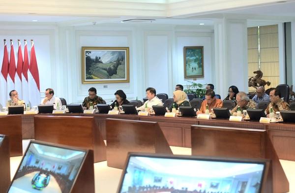 Presiden: Segera Bereskan Payung Hukum Perpindahan Ibu Kota