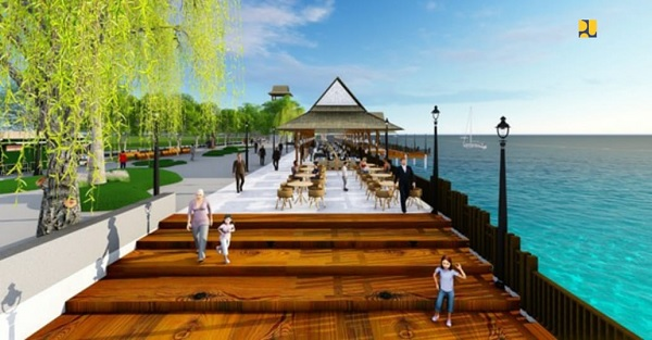 Dukung KSPN, PUPR Bangun 'Waterfront City' Pantai Malalayang