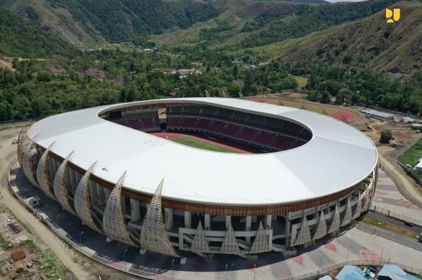 4 'Venue' Siap Digunakan Untuk PON XX 2020 di Papua