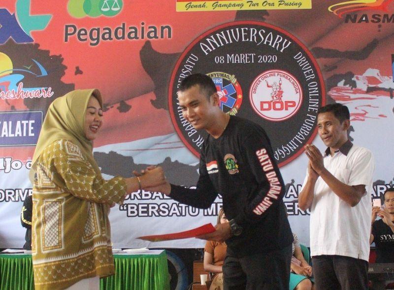 Tiwi Yakin Driver Online di Purbalingga Makin Berkembang