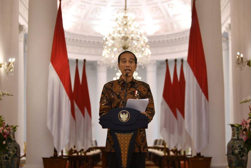 Presiden Jokowi dan Para Menteri Jalani Tes Corona