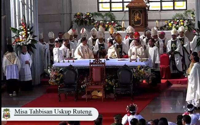 Ansy Ucapkan Selamat Atas Tahbisan Uskup Ruteng
