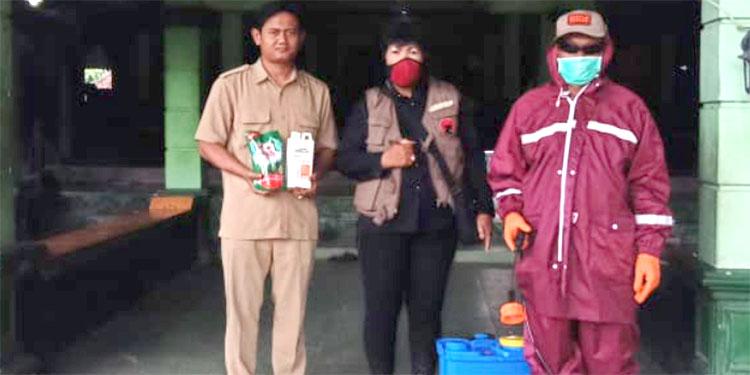 PDI Perjuangan Magetan Beri Pelatihan Fumigasi Disinfektan