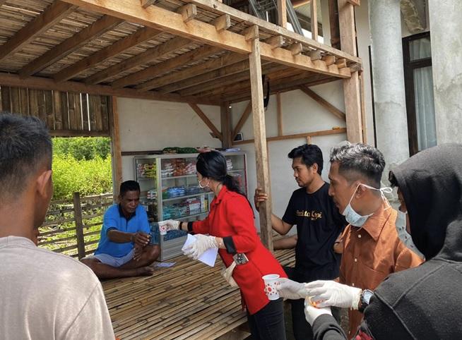 Srikandi Banteng Karlina Sukarman Lawan Covid-19