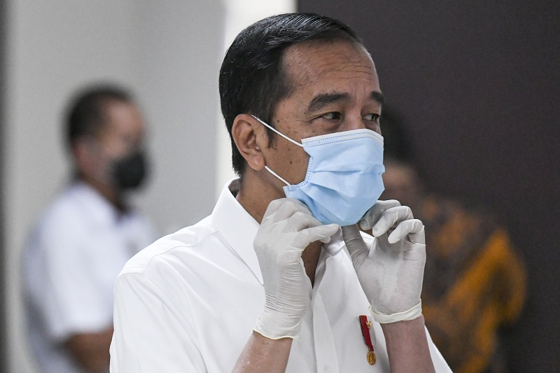 "Ini Alasan Utama Presiden Jokowi Tak Pilih ""Lockdown"""