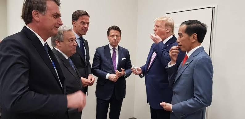 KTT Luar Biasa G20 Secara Virtual Bahas Covid-19