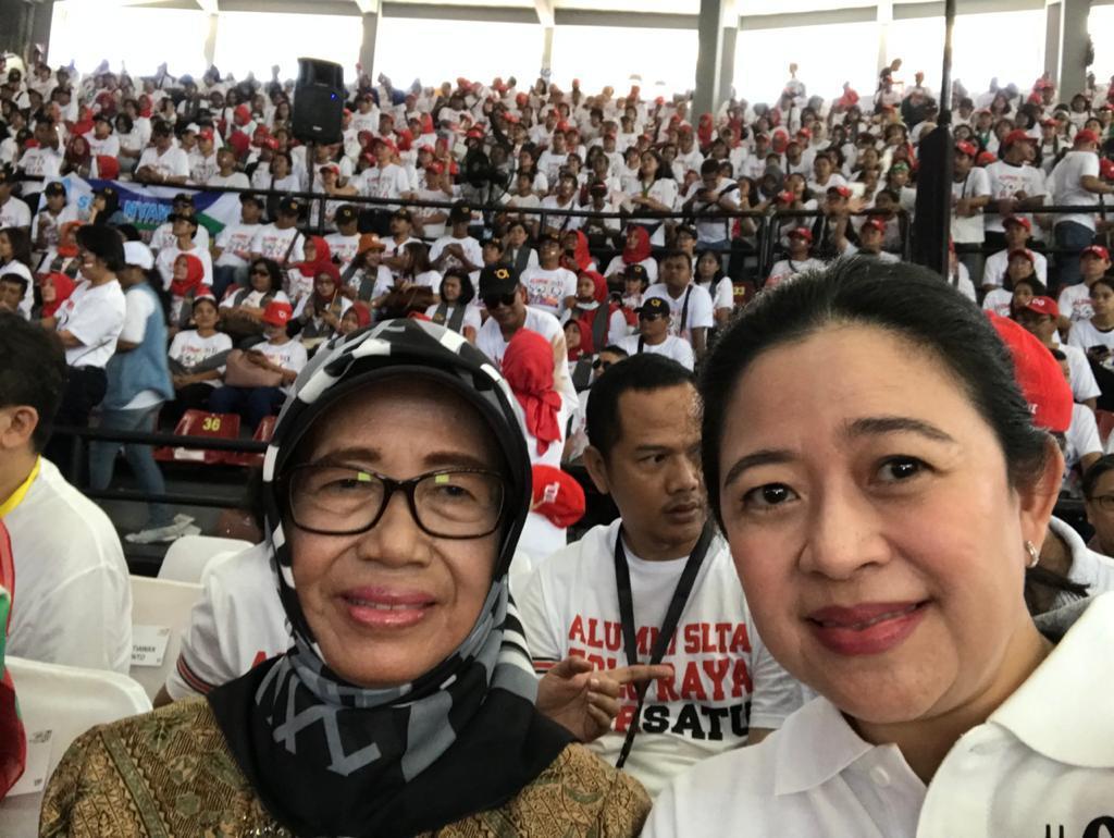 Puan Berbela Sungkawa Atas Wafatnya Ibunda Jokowi
